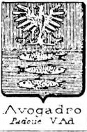 Avogadro Coat of Arms / Family Crest 21