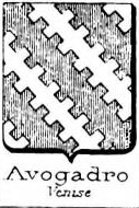 Avogadro Coat of Arms / Family Crest 23
