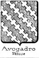 Avogadro Coat of Arms / Family Crest 24
