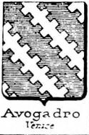Avogadro Coat of Arms / Family Crest 26