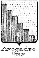 Avogadro Coat of Arms / Family Crest 28