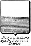 Avogadro Coat of Arms / Family Crest 31