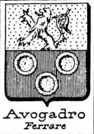 Avogadro Coat of Arms / Family Crest 14