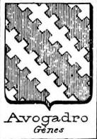 Avogadro Coat of Arms / Family Crest 15