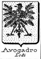 Avogadro Coat of Arms / Family Crest 16