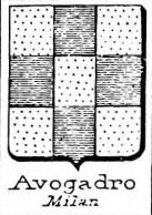 Avogadro Coat of Arms / Family Crest 17