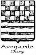Avogarde Coat of Arms / Family Crest 0