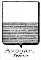 Avogari Coat of Arms / Family Crest 1