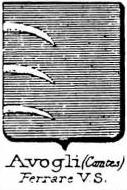 Avogli Coat of Arms / Family Crest 2