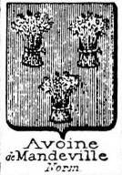 Avoine Coat of Arms / Family Crest 2