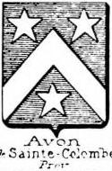 Avon Coat of Arms / Family Crest 1