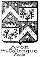 Avon Coat of Arms / Family Crest 0