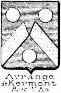 Avrange Coat of Arms / Family Crest 1