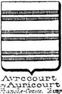 Avrecourt Coat of Arms / Family Crest 0