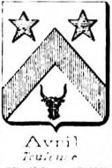 Avril Coat of Arms / Family Crest 1