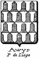 Awyr Coat of Arms / Family Crest 0