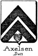 Axelsen Coat of Arms / Family Crest 1