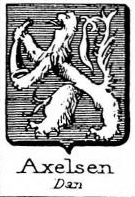 Axelsen Coat of Arms / Family Crest 2