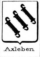 Axleben Coat of Arms / Family Crest 0