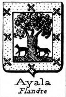 Ayala Coat of Arms / Family Crest 10