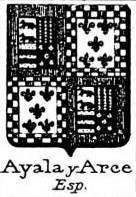 Ayala Coat of Arms / Family Crest 12