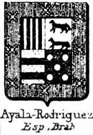 Ayala Coat of Arms / Family Crest 14