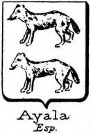 Ayala Coat of Arms / Family Crest 9