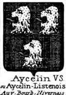 Aycelin Coat of Arms / Family Crest 0