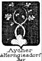 Aycher Coat of Arms / Family Crest 0