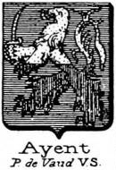 Ayent Coat of Arms / Family Crest 0