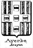 Ayerbe Coat of Arms / Family Crest 2