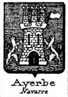 Ayerbe Coat of Arms / Family Crest 3