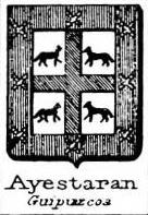 Ayestaran Coat of Arms / Family Crest 1