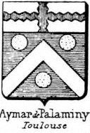 Aymar Coat of Arms / Family Crest 1