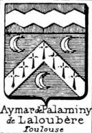 Aymar Coat of Arms / Family Crest 2