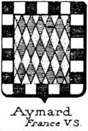 Aymard Coat of Arms / Family Crest 1
