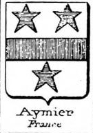 Aymier Coat of Arms / Family Crest 0