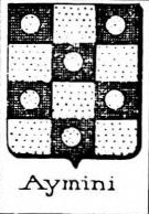 Aymini Coat of Arms / Family Crest 0