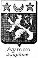 Aymon Coat of Arms / Family Crest 1