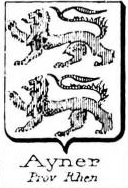 Ayner Coat of Arms / Family Crest 0