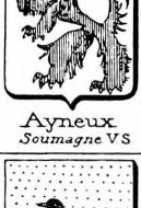 Ayneux Coat of Arms / Family Crest 0