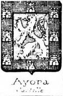 Ayora Coat of Arms / Family Crest 0