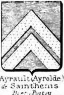 Ayrault Coat of Arms / Family Crest 0