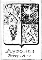 Ayrolles Coat of Arms / Family Crest 0