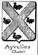 Ayvelles Coat of Arms / Family Crest 0