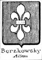 Berzkowsky Coat of Arms / Family Crest 0