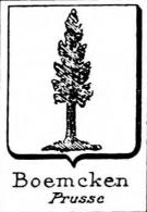 Boemcken Coat of Arms / Family Crest 1