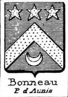 Bonneau Coat of Arms / Family Crest 1