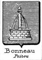 Bonneau Coat of Arms / Family Crest 2