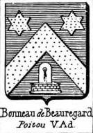 Bonneau Coat of Arms / Family Crest 3